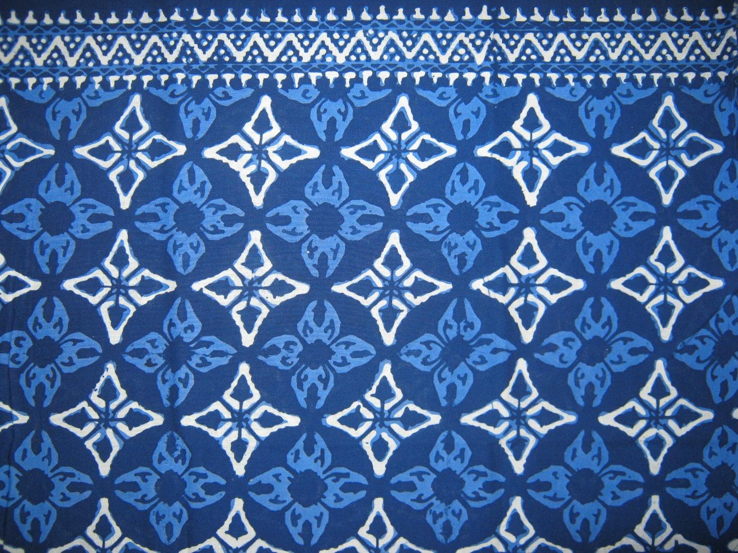 MOTIF COMBINATION   Batik Indah RARA DJONGGRANG