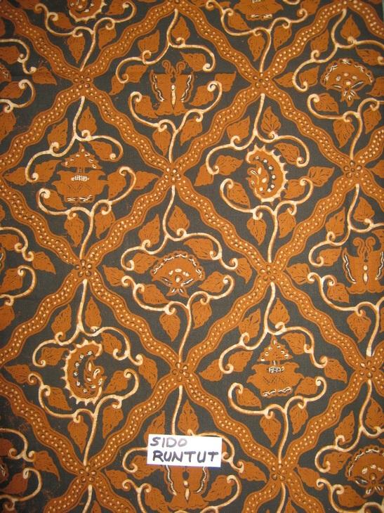 Sido Runtut Motif Contoh Gambar Batik Yg