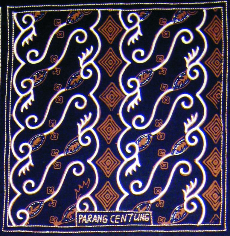 Motif Parang Batik Indah Rara Djonggrang